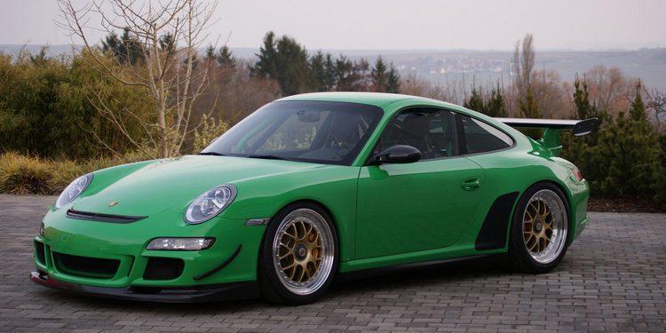 Más potencia y menos peso para esta preparación del Porsche 911 GT3 RS (997)