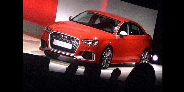 Se filtra el diseño final del Audi RS3 Sedán