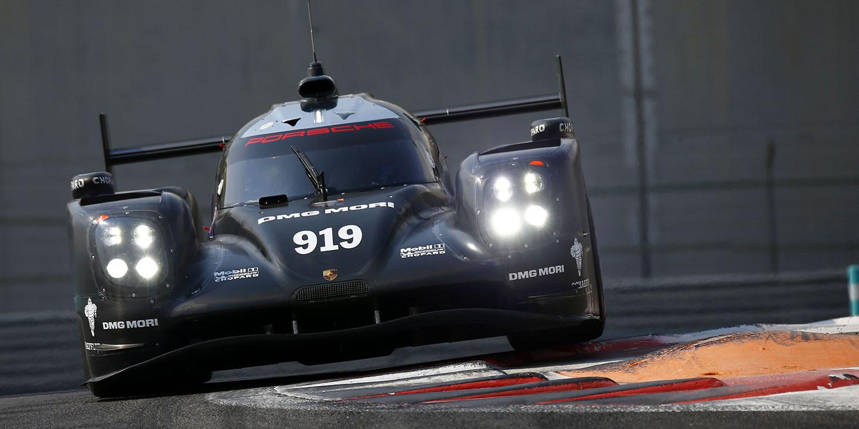 Porsche concluye su test de neumáticos en Abu Dhabi