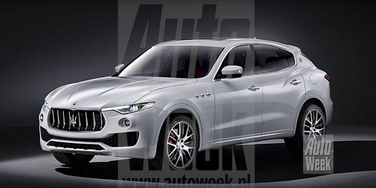 El nuevo Maserati Levante crossover filtrado al completo