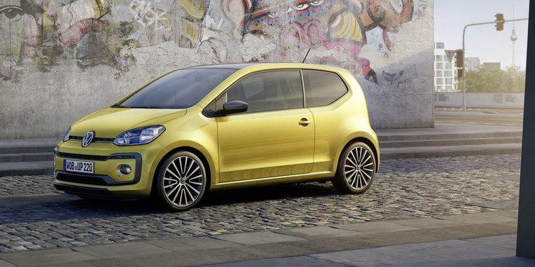 El restyling del Volkswagen Up! llega con un motor turbo de 90 CV