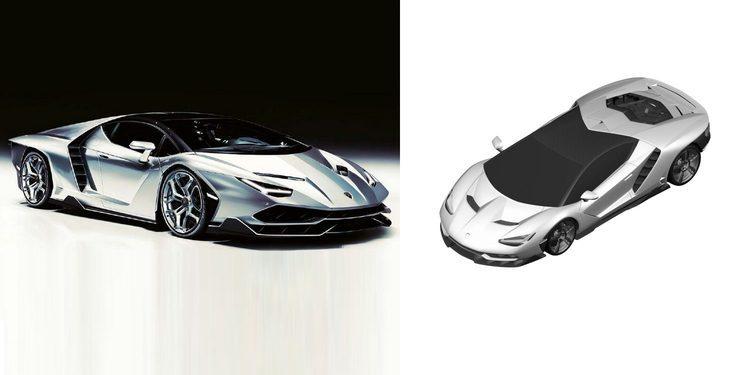 Filtrada la posible primera imagen del Lamborghini Centenario (actualizada)
