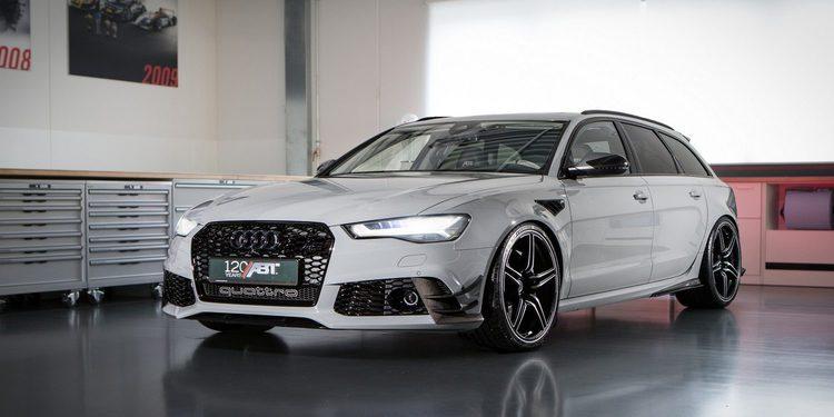 ABT lleva hasta los 735 CV el V8 turbo del Audi RS6