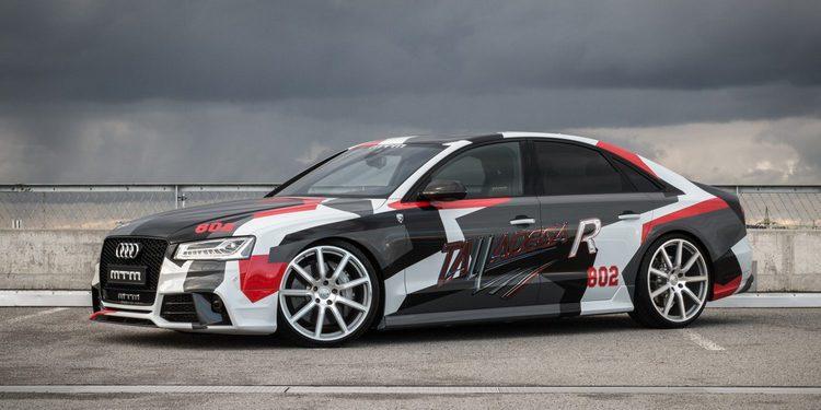 El Audi S8 de MTM Perfomance alcanza 800 CV y 222.000 Euros