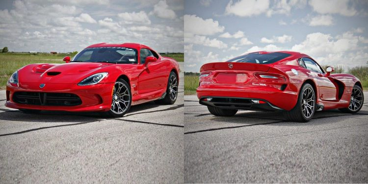 Hennessey eleva el Dodge SRT Viper por encima de los 1.100 caballos