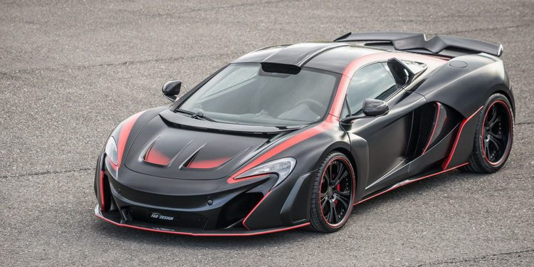 FAB Design crea un impresionante McLaren 650S que veremos en Ginebra