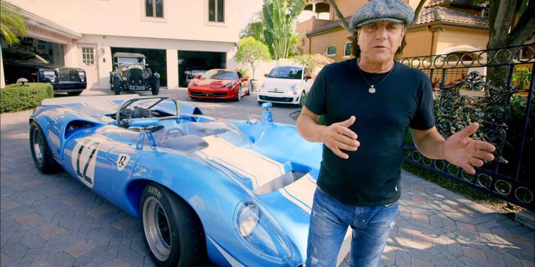 Brian Johnson de AC/DC vende su magnífico Lola T70 mk1 restaurado