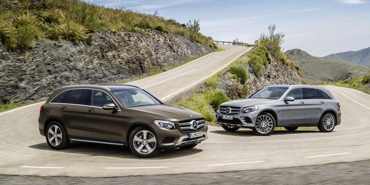 El Mercedes-Benz GLC incorpora a la gama un motor gasolina de 211 CV