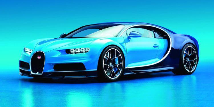 Desvelado el Bugatti Chiron, nace la nueva referencia