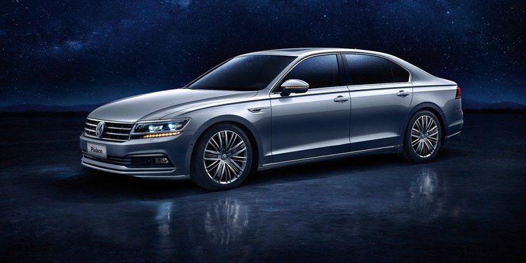 Volkswagen presenta el Phideon, una especie de nuevo Phaeton solo para China