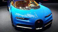 El nuevo Bugatti Chiron en directo desde Ginebra