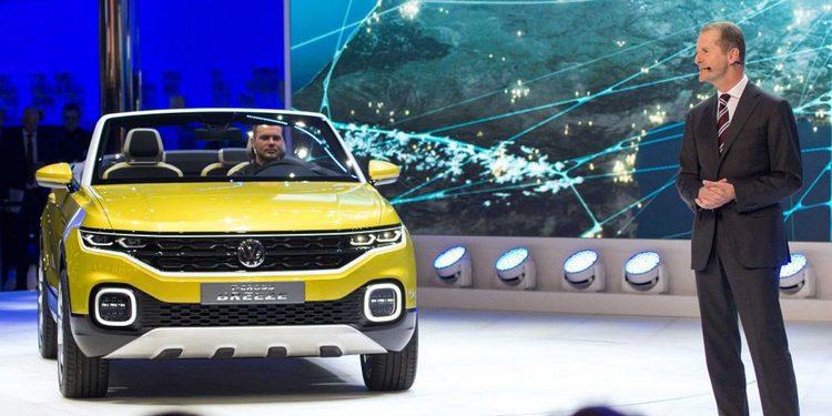 Vídeo: Interrumpen la presentación de Volkswagen en Ginebra por el Dieselgate