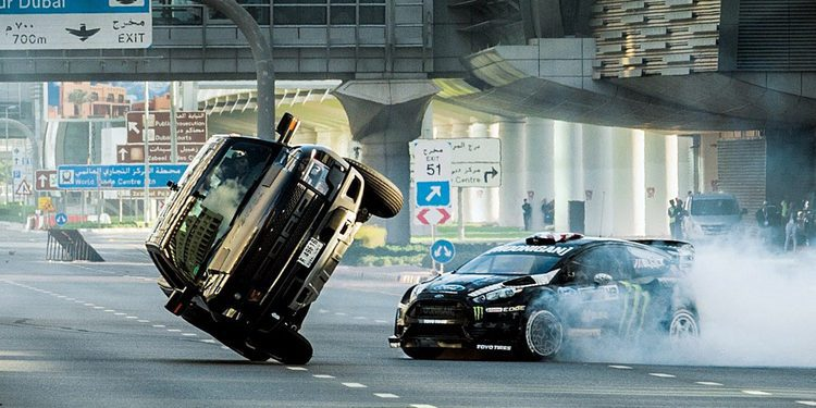 Ken Block desvela la espectacular Gymkhana Eight desde Dubai