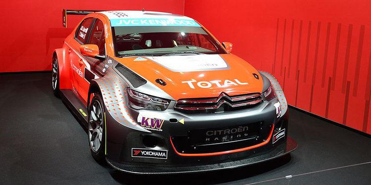 Citroën Racing presenta sus nuevos colores para el WTCC