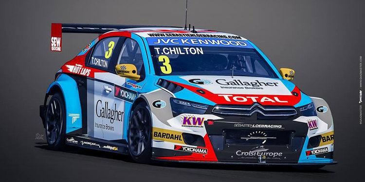 Así será el Citroën de Tom Chilton en el WTCC