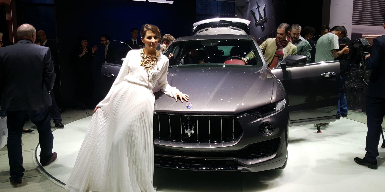 Maserati se une a la moda de los SUVs y presenta en Ginebra el Levante