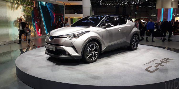 Toyota lleva a Ginebra su propio Juke, el C-HR Hybrid
