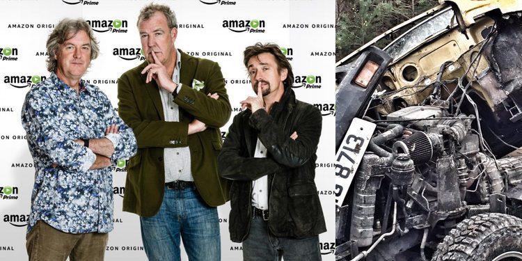 Jeremy Clarkson sufre un accidente grabando su nuevo programa