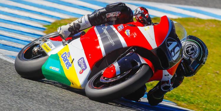 Axel Pons en Moto2 y Fenati en Moto 3 lideran los primeros test oficiales