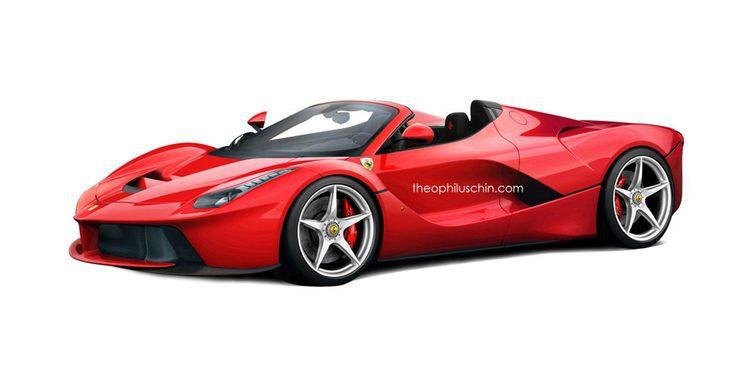 Parece confirmarse el Ferrari LaFerrari spyder