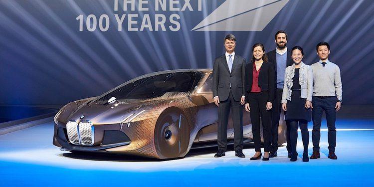 BMW presenta el avanzado concept Vision Next 100 por su centenario