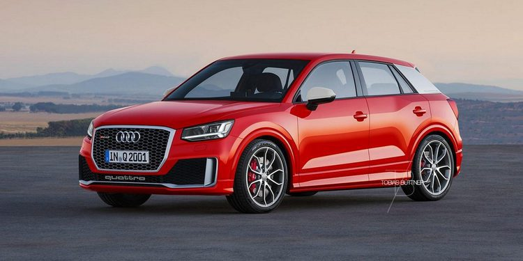 Imaginado un posible Audi RS Q2