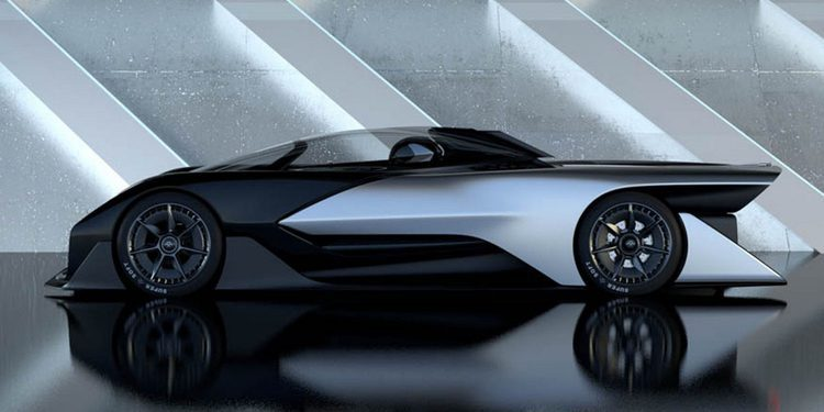 Apuntan que Aston Martin podría fabricar el FFZERO1 de Faraday Future
