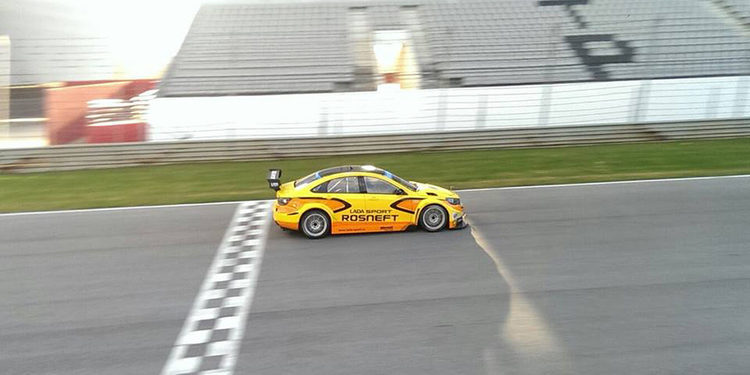 Lada Sport realiza un test positivo en Portugal