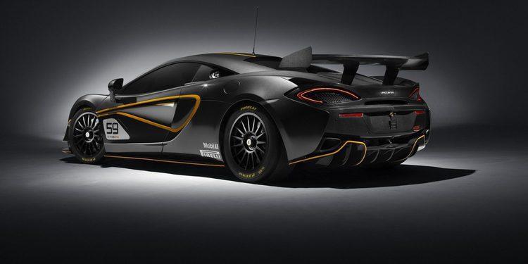 McLaren desvela la nueva variante 570S GT4 de circuito