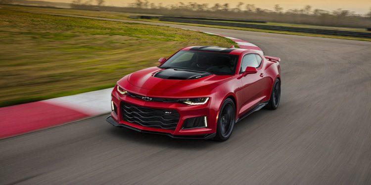 Chevrolet presenta el Camaro ZL1 de 650 CV y 10 velocidades