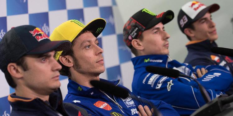 Jornada de víspera mundialista en MotoGP