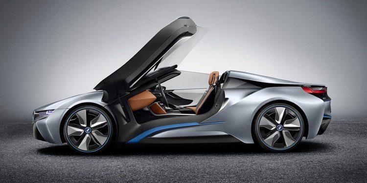 BMW confirma el nuevo i8 Roadster para 2018 y nueva versión del i3 para 2016