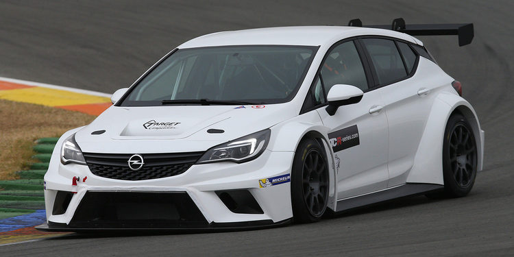 Jordi Oriola con Target Competition en las TCR International Series