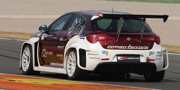 Resultados positivos para el Alfa Romeo TCR en Valencia