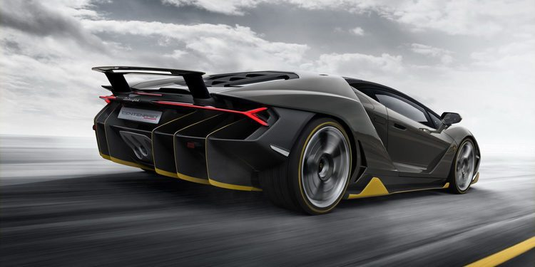 El Lamborghini Centenario en vivo y en movimiento