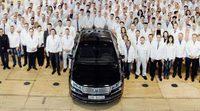 Volkswagen ya fabricó el último de los Phaeton en su factoría de cristal