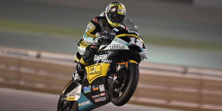 Thomas Luthi se lleva la victoria en una problemática carrera de Moto2
