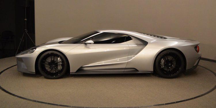 Cazado un prototipo de pre-producción del Ford GT 2017