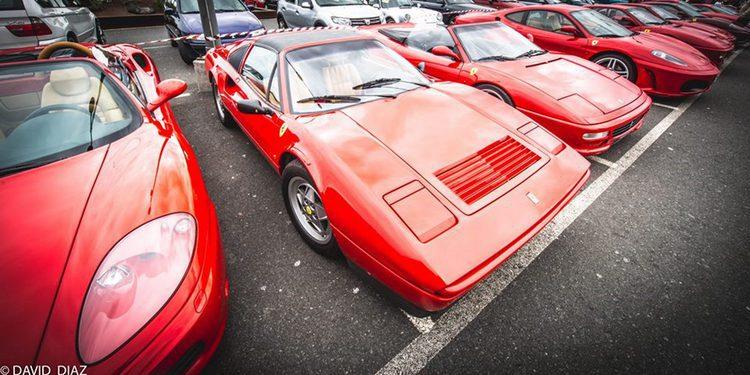 Primer encuentro Ferrari España Canarias en Gran Canaria