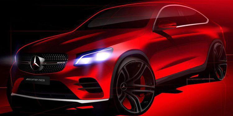 Primera imagen del nuevo Mercedes-Benz GLC Coupe