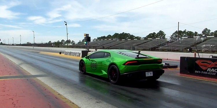 Otro Lamborghini Huracan arrebata el récord del cuarto de milla en solo un día