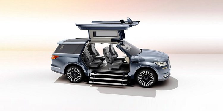 Lincoln presenta el Navigator Concept como adelanto de la nueva generación