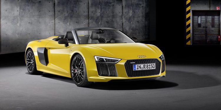 Audi R8 V10 Spyder 2016, llega el superdeportivo descapotable de Ingolstadt