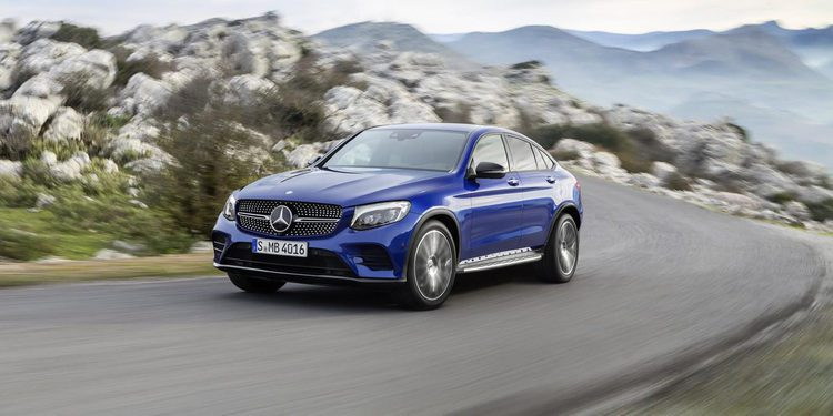 Mercedes-Benz GLC Coupé, primicia en Nueva York