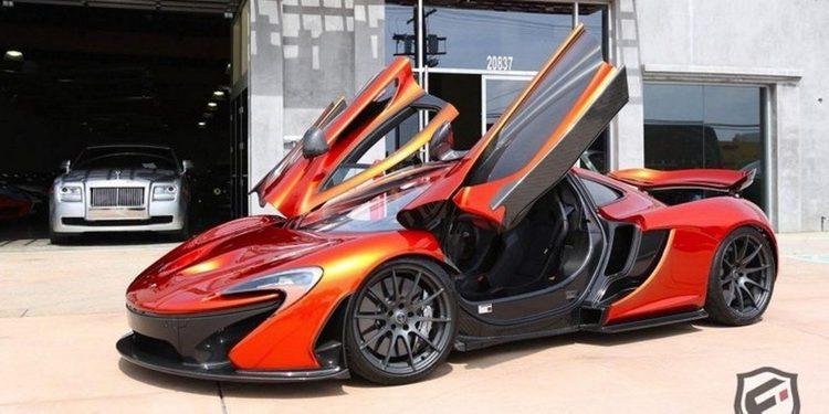 Piden 2 millones de euros por un McLaren P1
