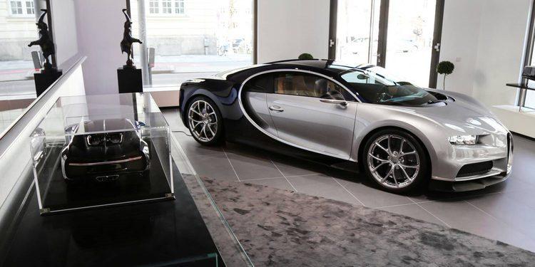Bugatti abre una boutique en Munich y en su exposición se esconde un Chiron