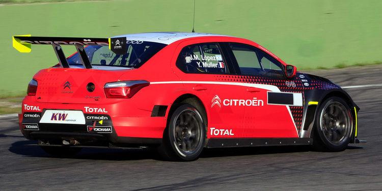 Citroën comienza su última temporada en la carrera de casa