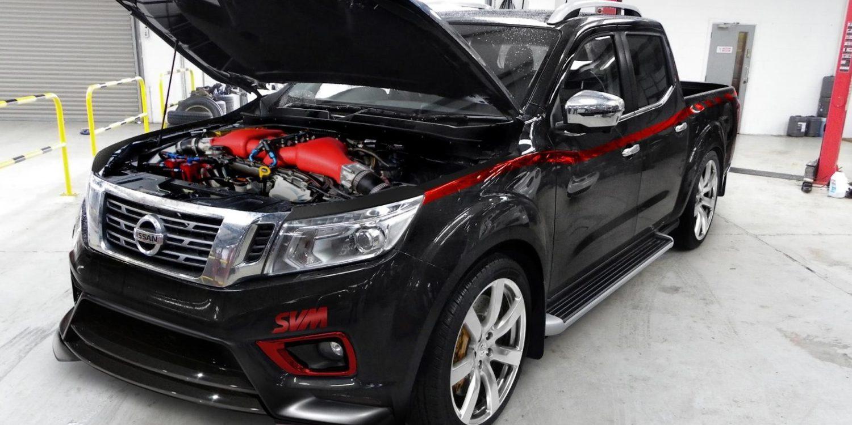 Hasta 1.500 CV para este Nissan Navara con motor de GT-R