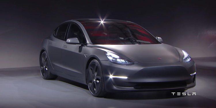 El Tesla Model 3 ya es un éxito de ventas antes incluso de salir al mercado
