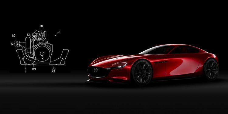 Mazda patenta un nuevo motor rotativo, el futuro RX7 más cerca